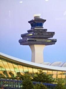 radar tower at airport