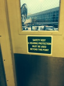 Airport Safety Sign