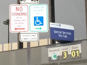 Disabled airport passengers face tough decisions when flying with or without their own wheelchairs, scooters or motorized devices. Insisting on airline assistance from curb to aircraft can reduce the likelihood of unnecessary danger and injury.