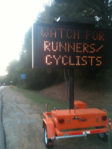 The several Spotsylvania and Fredericksburg bike crashes remind us to preview the race courses for strategy AND safety