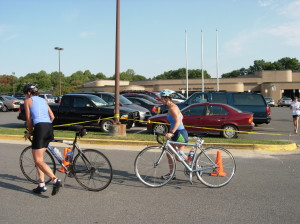 Bikers stopped to traffic violations may find their ride (or race !) over prematurely if they do not have proper identification