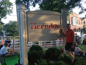 """The W&OD Trail runs through Herndon, down the street from the Landau Law Shop.  Herndon Reston area bike safety lawyer Doug Landau ntoes that there signs regularly stating """"NO Motorized Vehicles"""""""