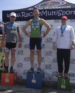 At Racine Multisports' Hagerstown DUathlon, Herndon lawyer Doug Landau wound up on the podium with an age group win