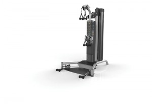 Five models of Matrix strength training machines like the one pictured here have been recalled because the handle can detach, causing injury.  Stop using the product and call the manufacturer for a repair.