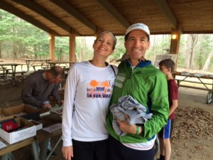 Fast Williamsburg area runner & CRR regular, Jenn Primich, a VCU interventional radiology Technologist, not only won her age group, but kept running another several miles after the race !