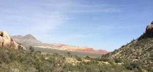 The formations and colors of Nevada's Red Rock Canyon make for a scenic hike, drive, bike ride or run