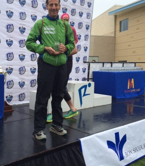 Athletes Lawyer Doug Landau came in 3rd place in his age group on a cold day in Richmond.