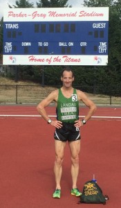 At the Potomac Valley Games 5,000 meter run at T. C. Williams High School track, Doug Landau managed to win his age group and finish mid-pack before driving up to NYC and CT to see family over the Labor Day Holiday weekend.