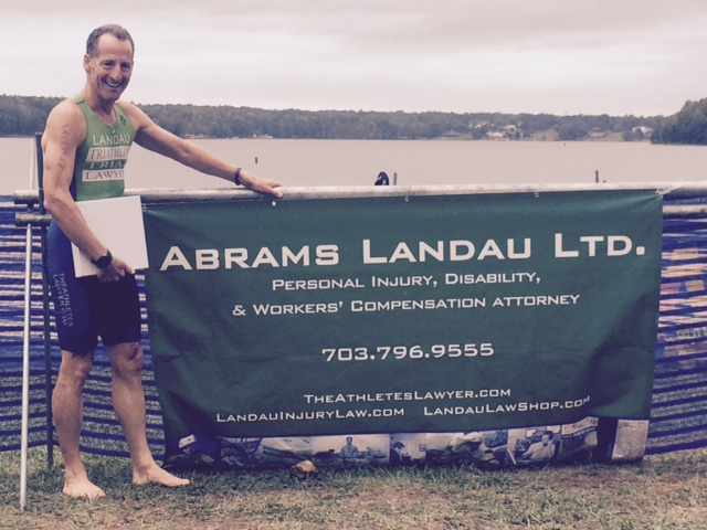 The Herndon law firm ABRAMS LANDAU, Ltd. is a proud sponsor of the Virginia Triathlon Series. These multisport races not only benefit host communities all over the Commonwealth, but also their charitable partners.