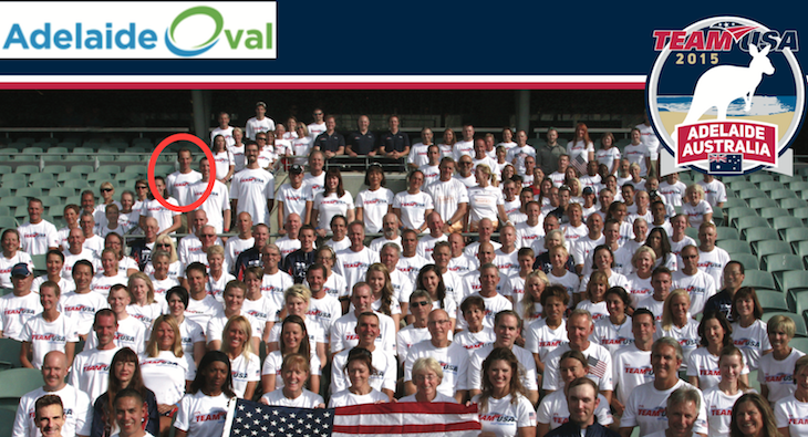 Can you find lawyer Landau in the 2015 TeamUSA World Championship  photo?
