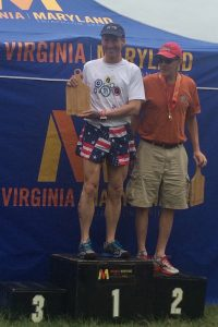 Needing top performances in his last 2 VTS/MTS Triathlon Super Series events, Doug Landau managed to top the AG podium in Spotsylvania at the Gian Acorn Sprint race