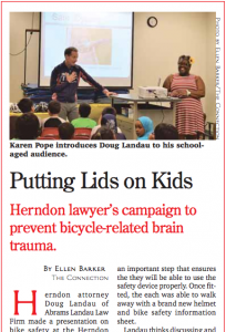 A snippet of our feature in this week's Herndon Connection.