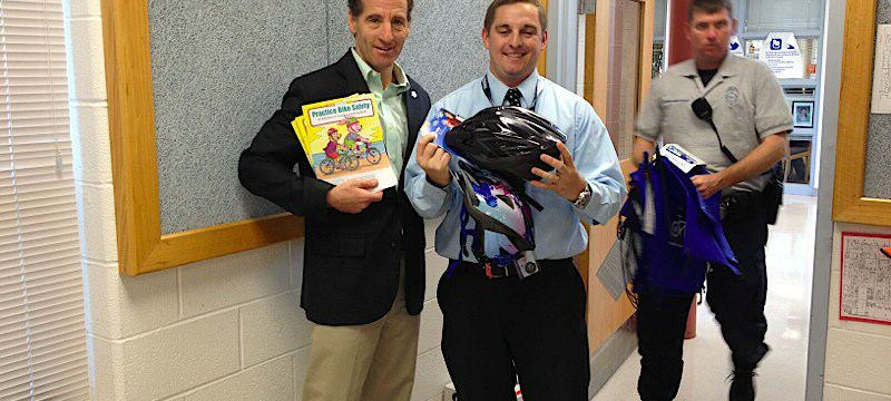 Hutchison Elementary School Students Learn About Brain Injury Prevention