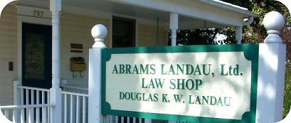 law shop sign