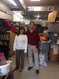 Doug Landau and Beatriz Vargas at The Closet