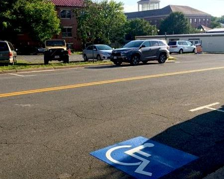 Handicapped Parking Now Available Right Outside Our Front Door!
