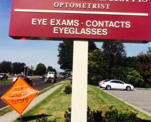 Optometrist Sign
