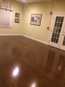New Floors in Abrams Landau Conference Room