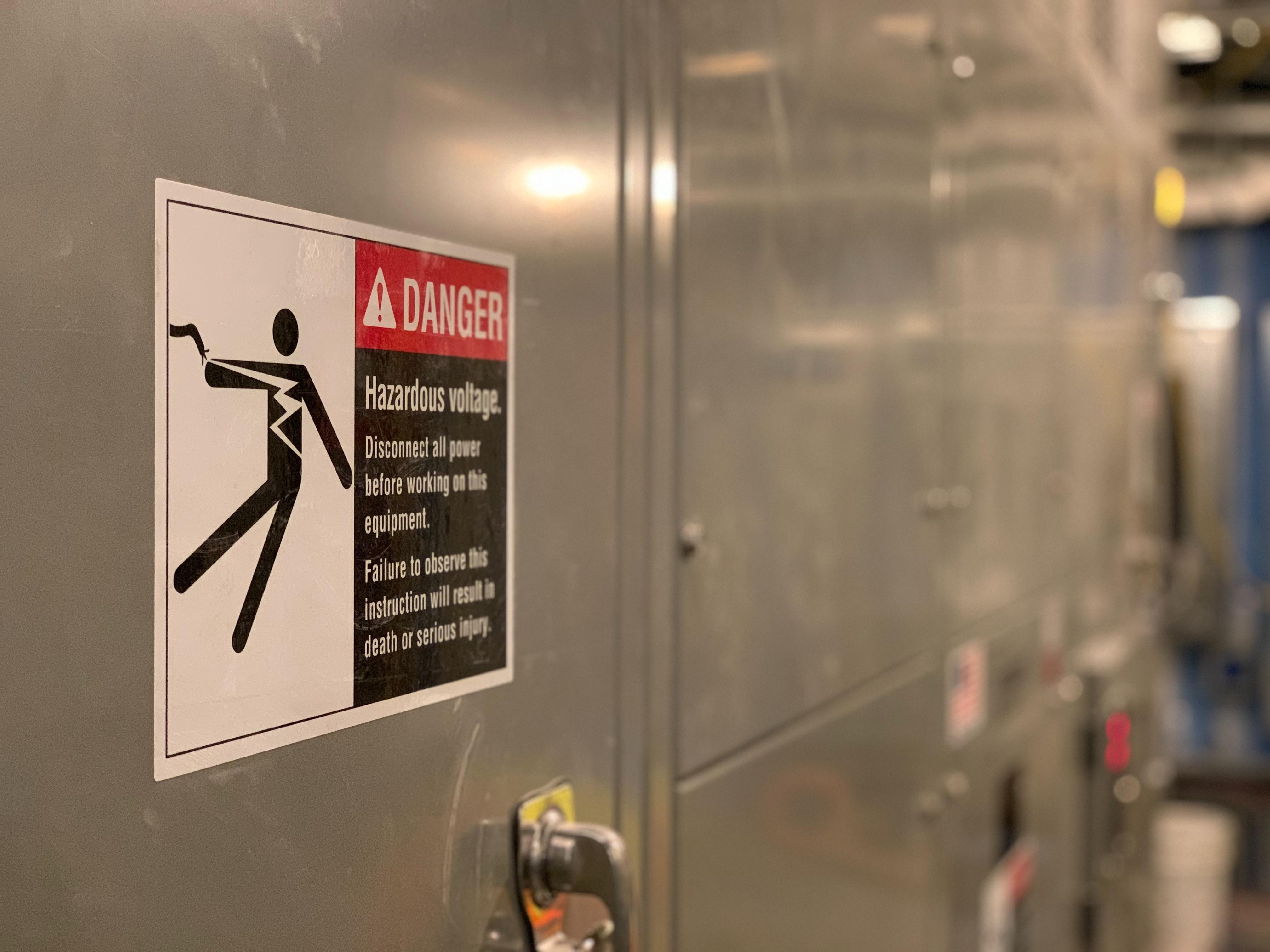workplace safety hazard sign
