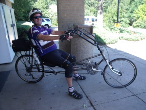 Recumbent bikes can be good for those with back injuries or spine issues