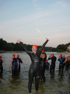 Usually excited for the swim to get underway, Reston triathletes will not compete in Lake Audubon this weekend due to safety issues