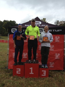 Giant Acorn Sprint Triathlon 50-54 age group winners