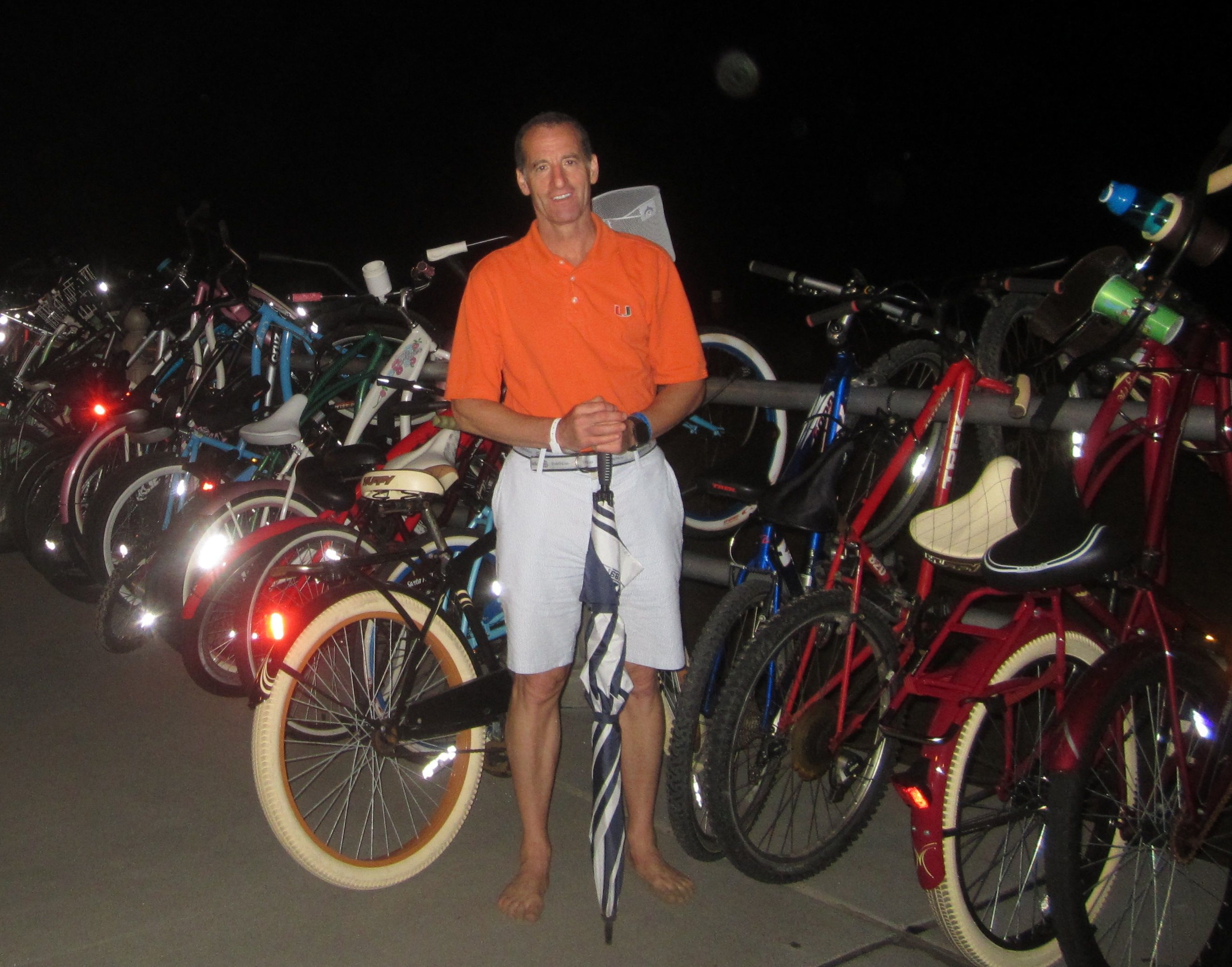 Riding Bikes At Night Is A Por Summer Activity The Boardwalk