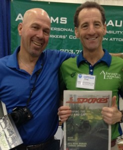 Neal Sandler and Doug Landau at Tri-Mania DC Summit and Expo