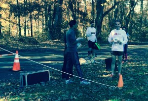 The Veterans Day 11km at Burke Lake Park raised money for the Wounded Warrior Project. Doug Landau won the over 50 division