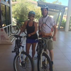 Landaus on bikes