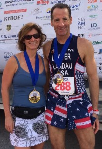 BOTH Landaus won their age groups in the Broward County road races held during the AAJ winter convention