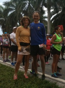Top Buffalo New York injury lawyer AND road racer John Feroleto ran (and was an award winner) in the EMBrace half marathon, as did Melissa Landau, during the trial lawyers convention