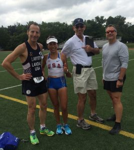 Potomac Valley athletes, officials & spectators enjoyed great weather for the SouthEast Track & Field Championship