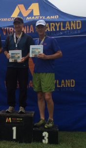 Loudoun County's Steve Bradley was the best in his Age Group & competed successfully in North Carolina, Virginia AND Maryland Triathlon Series races