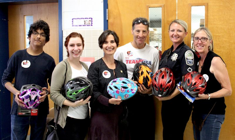 Lids on Kids bike helmet program