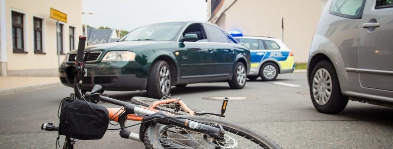 bicyclist hit by car