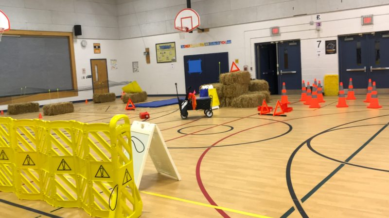 sleepy hollow elementary school obstacle course