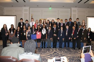 Rachel Carson Middle School students won the Virginia State Championships of the We the People Competition.