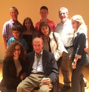 Bernie Cohen and his family after the showing of the documentary about his landmark civil rights case Loving vs. Virginia