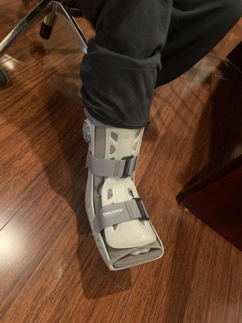 walking cast