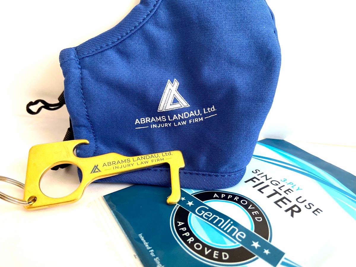 Landau Injury Law Covid Safety Kit