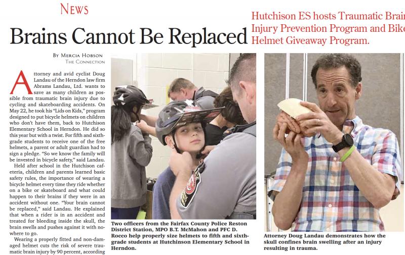 abrams landau lids on kids hutchison elementary school herndon connection article