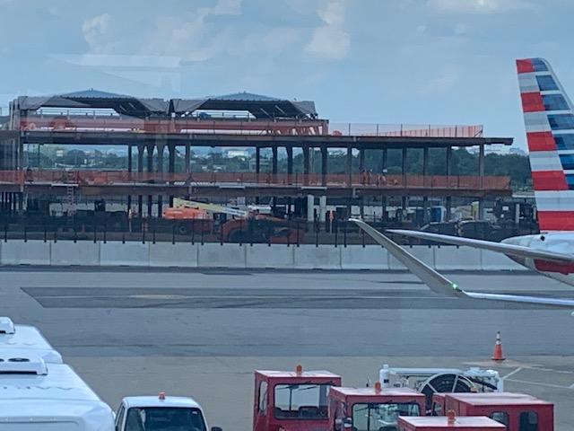 reagan national airport construction